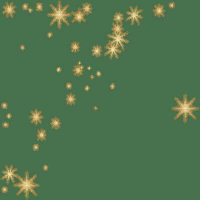 stars gold deco bg