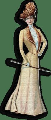 woman vintage 1900
