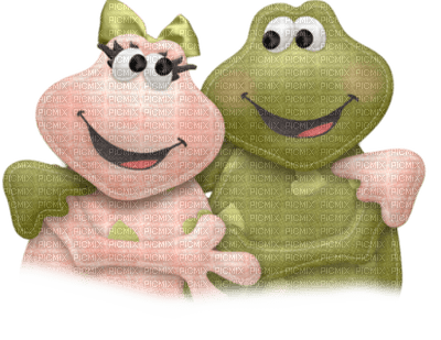 GRENOUILLE amour FROG LOVE