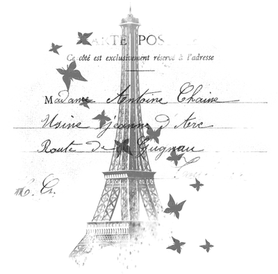 Black Paris Text