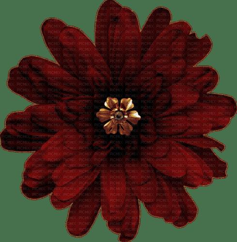 Fleur.Flower.Deco.Burgundy.Victoriabea