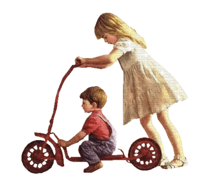 Kaz_Creations Baby Enfant Child Girl Boy Friends  Dog Pup Scooter