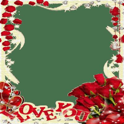 frame cadre text valentine valentin fleur flower red rose