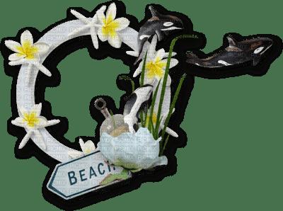 beach frame deco summer plage cadre êtê