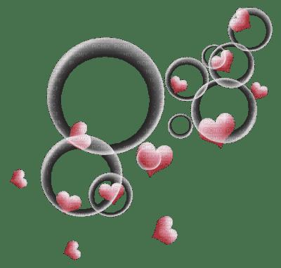 des coeur rose