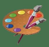 color brush palette paint painting paintinglounge