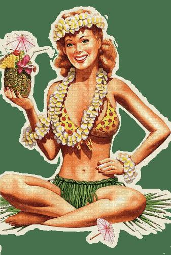 hula woman femme
