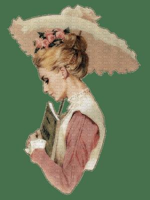 Kaz_Creations Woman Femme Vintage