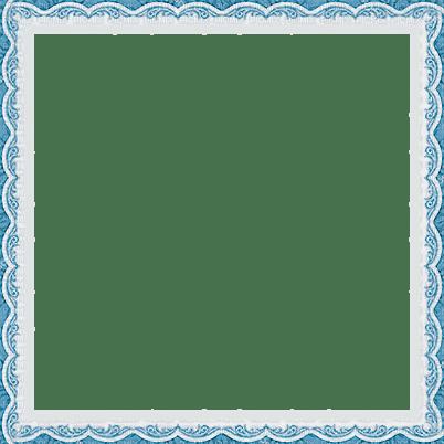soave frame vintage border lace blue