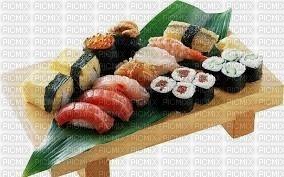 plat de sushi