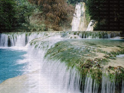 Cascade du Mexique