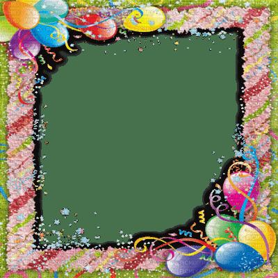 Kaz_Creations Deco Background Frame Happy Birthday