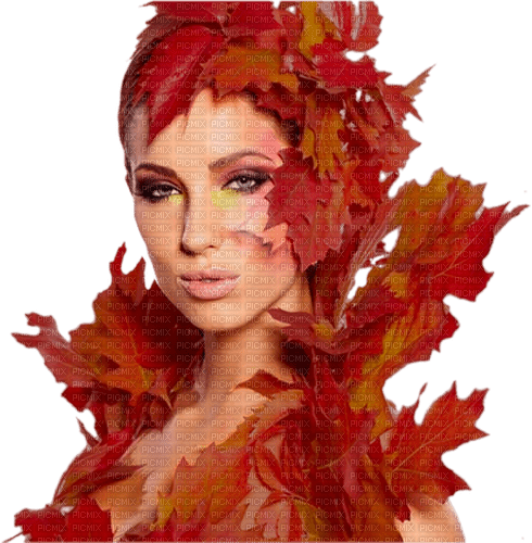 autumn girl  woman kikkapink png