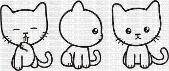 Dessin de chat rigolo picmix - Dessin de chat rigolo ...