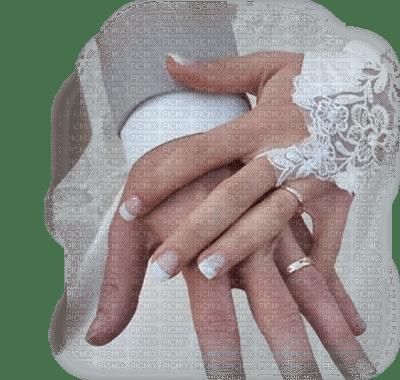 mains de mariage hands wedding