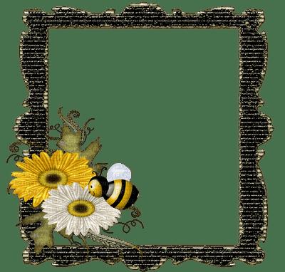 Kaz_Creations Cute Cartoon Love Bees Bee Wasp Frames Frame Deco