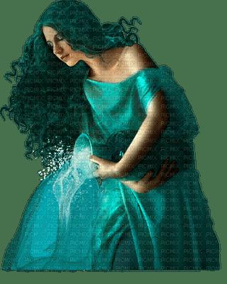 woman green femme vert