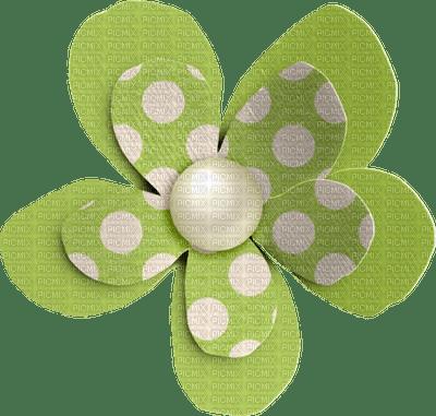 Bouton.Fleur.Flower.Green.Button.Deco.Victoriabea