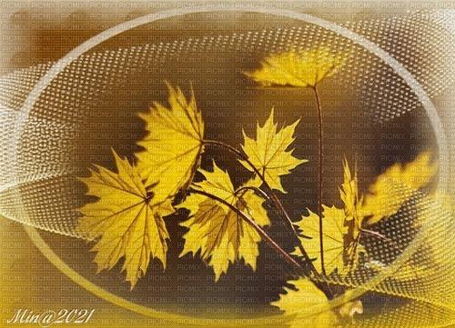 bg gul med löv