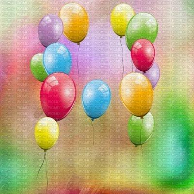 Image Encre Bon Anniversaire Color Effet Ballons Edited By Me Fond