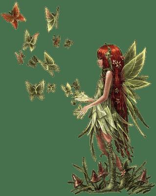 green fairy fantasy laurachan