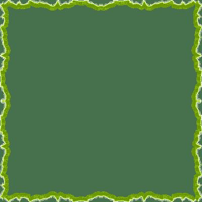 green frame cadre vert