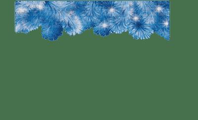 blue garland