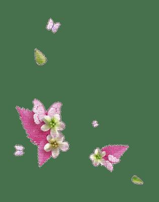 Kaz_Creations Deco Flowers  Pink Colours