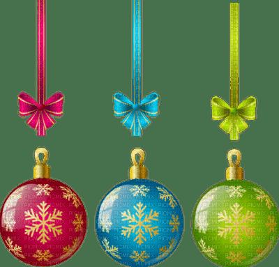 Noël décorations BOULES DE NOEL_Christmas decorations  _tube