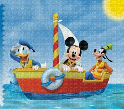 image encre bon anniversaire color effet  Mickey Disney eau fantaisie  edited by me