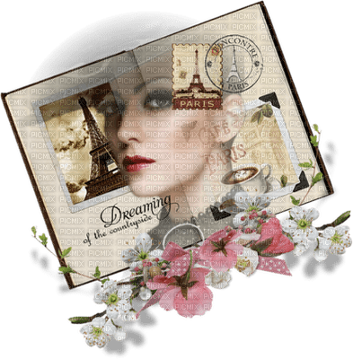 Kaz_Creations Deco Paris  Woman Femme