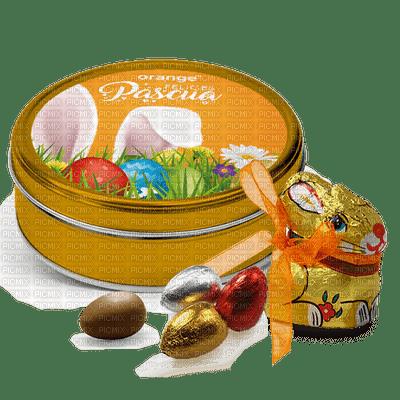 deko,tube,Pâques, bonbons, chocolat,Orabel