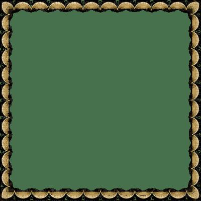cadre or bruin transparent gold brown frame