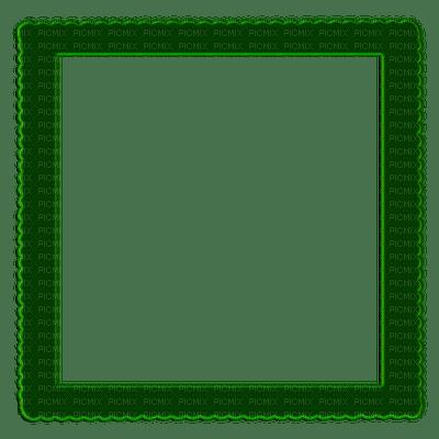 green frame, cadre vert