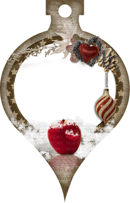 Christmas Apple Snow Deco - Bogusia