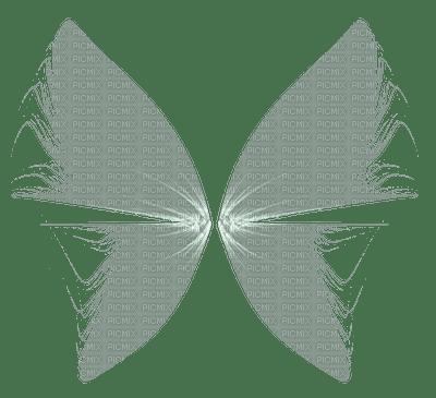grey fairy wings