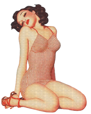 vintage woman bp