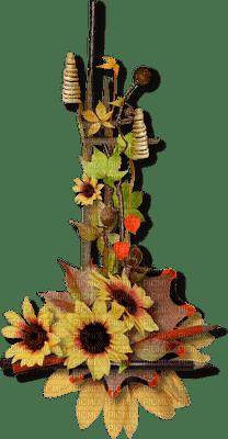 automne décoration tournesol__Blue DREAM 70