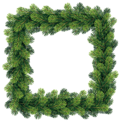 Noël cadre sapin_Christmas frame-tube