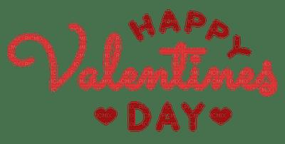 Happy Valentine's day.text.Red.Victoriabea