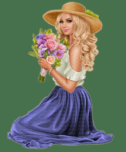 femme,fille,visage, blonde,fleur,Orabel