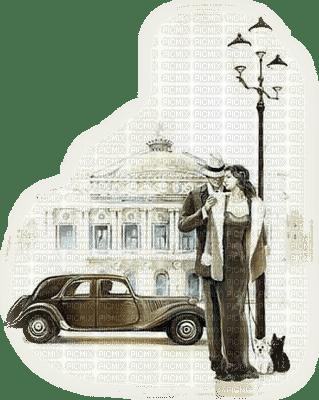 femme vintage avec voiture.Cheyenne63