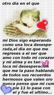 Dios es mi vida...