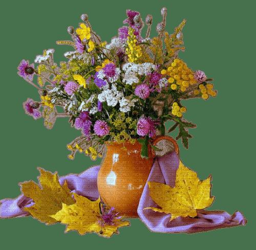 autumn  flowers vase automne fleur vase