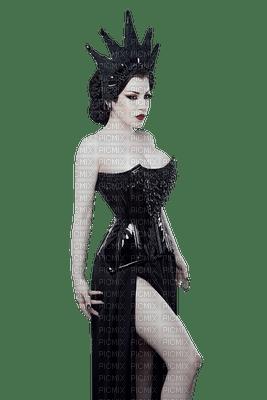gothic goth dark woman femme frau beauty tube human person people black