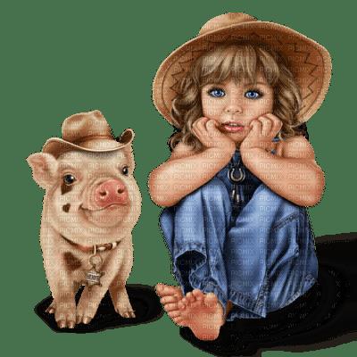bebe,fille,cochon, village, Pelageya, ange, bébé ,fille