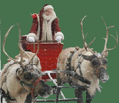 Noël Père Noël traîneau_Christmas Santa Claus sleigh_TUBE
