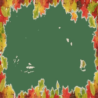 autumn leaves frame automne cadre feuilles