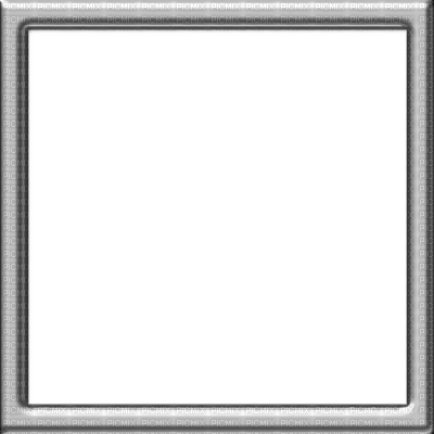 silver square frame cadre argent framework picmix