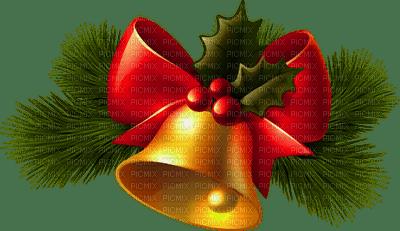 christmas bell mistletoe  deco noel
